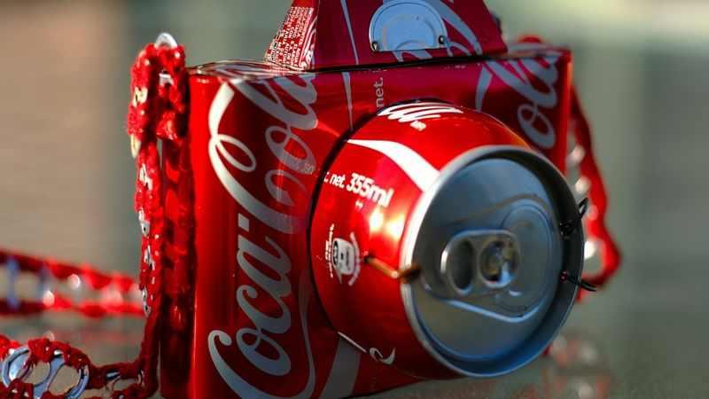Cocacola artwork photo camera soda cans can 1920x1080 wallpaper_www.wallpaperhi.com_58